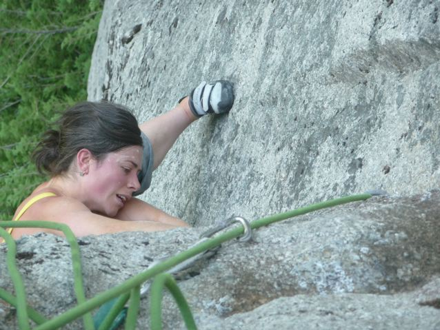 Mandoline cleaning the Crux pitch
