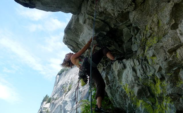 stepping it up- the crux pitch