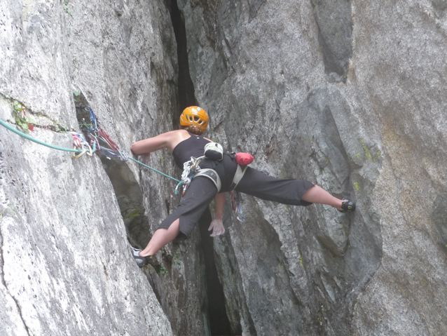 Senja on the last pitch of THE Gauntlet