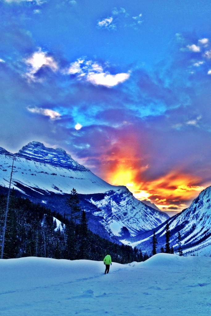 Amazing skies in the Canadian Rockies