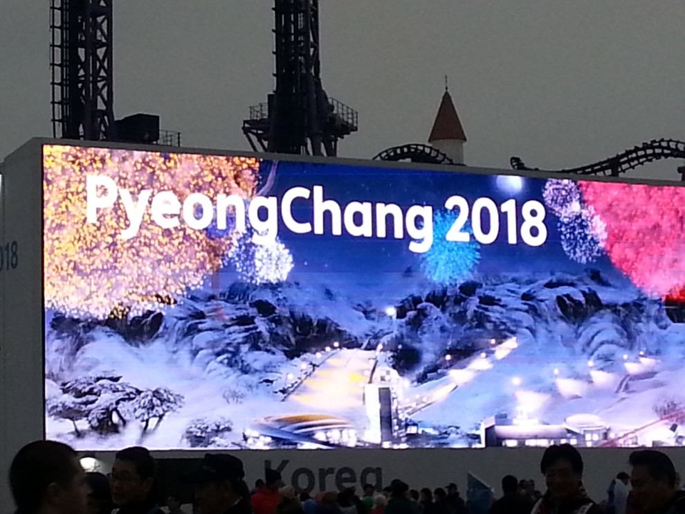 the Koreans are Psyched on Ice climbing!!!
